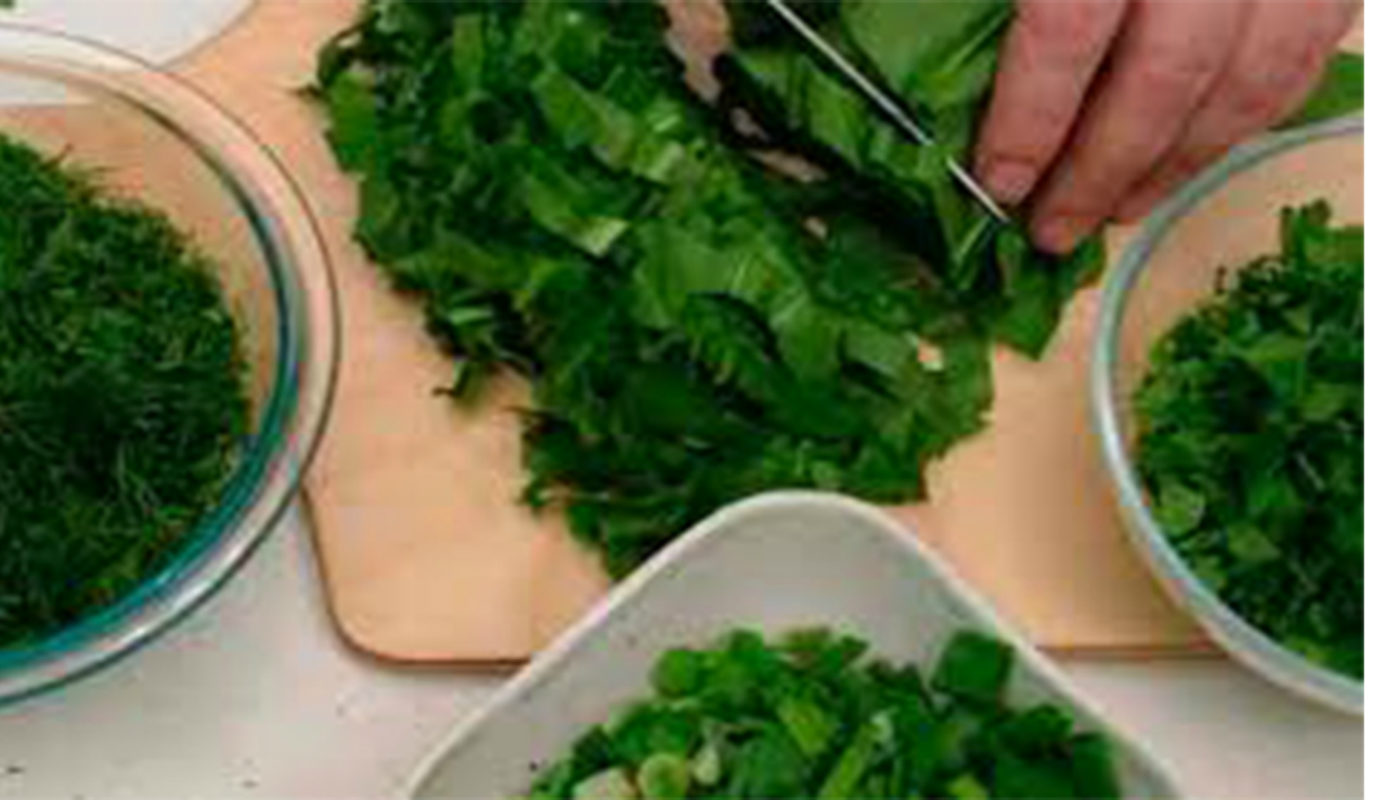 Заморозка зелени на зиму, необычные рецепты